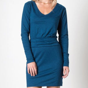 NWOT Toad&Co Zeta Dress, Blue Abyss, XL